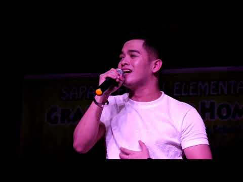 Concert by Angelo C. Mamay of Grand Alumni Homecoming of Sapad Elementary School