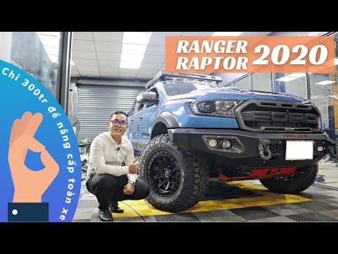 [ĐỘ XE FORD] Khám phá gói độ xe Ford Ranger Raptor 2020 khủng có gì? | ANH QUAY XE