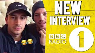 BBC 1 - TWENTY ONE PILOTS INTERVIEW (Tyler & Josh Talking about the London Show)