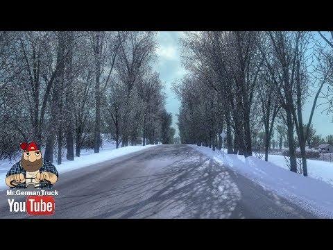 [ETS2 v1.30] Frosty Winter Weather Mod v6.5