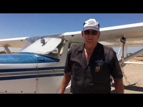 Cockpit preflight check with Jim McDermott