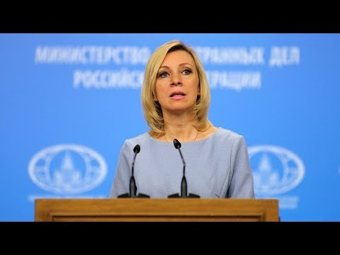 Russian FM spokesperson weekly media briefing