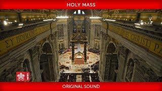 St Peter's Basilica-Holy Mass 2020-03-29