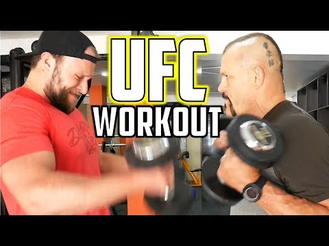 Download Youtube: Epic UFC Fighter Workout w/ Chuck Liddell! (Ultimate Expedition Episode 2)
