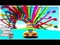 Sky High Rainbow Stunt Races (GTA 5 Versus)