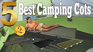 Best Camping Cots On Amazon