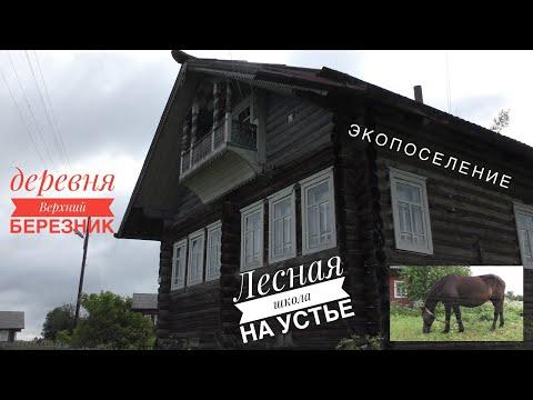 Лесная школа на Устье ( д. Верхний Березник Устьянский район )