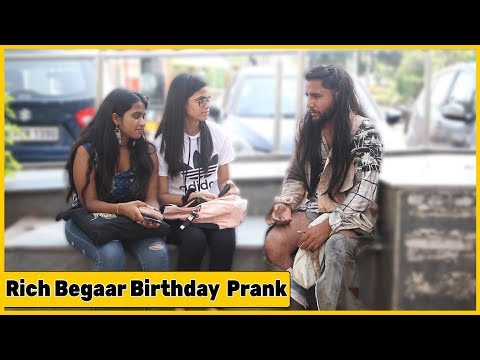Rich Beggar Birthday Prank On cute Girls😘😘❤️❤️| RDS Production
