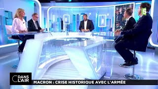 Macron : crise historique avec l'armée #cdanslair 19.07.2017