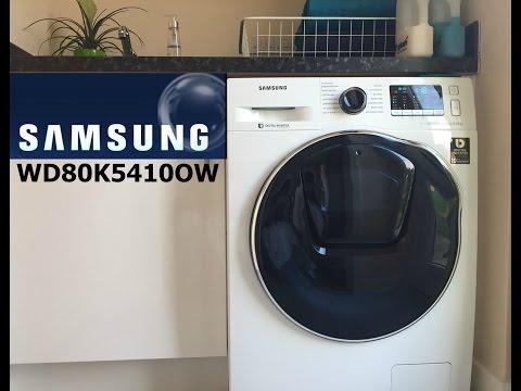 Samsung WD80K5410OW washer dryer