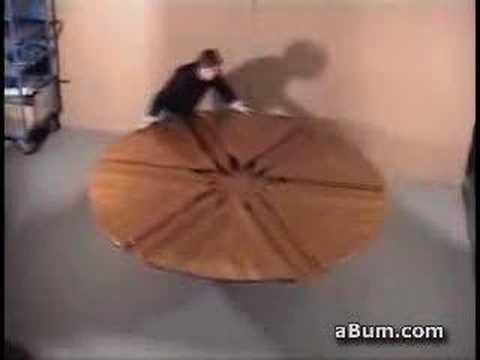 tavolo rotondo che si allarga - YouTube