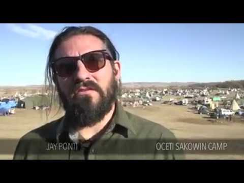 Jay Ponti interview at Standing Rock