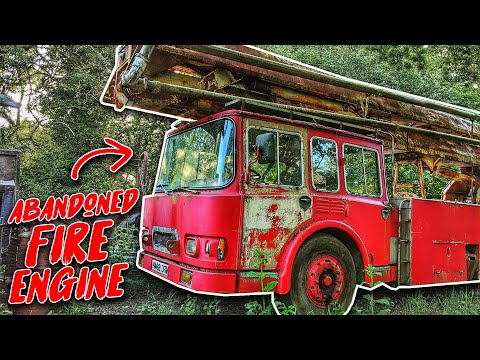 We Found An Abandoned Fire Engine Deep In The Forest