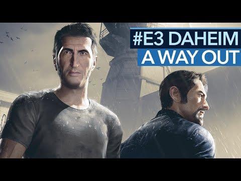 A Way Out angespielt - Ist EAs E3-Überraschung ein gutes Spiel?