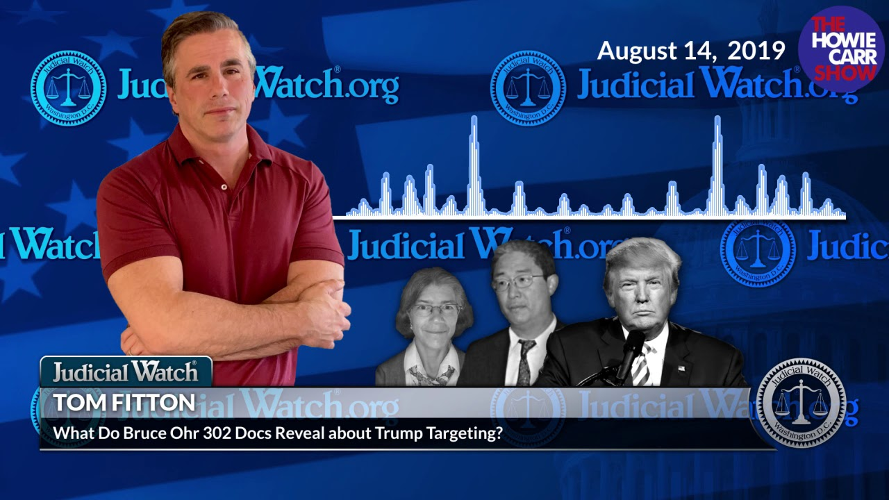 Judicial Watch Nellie Ohr Claimed She Wasn't Involved w/ Trump Targeting—New #SpyGate Docs Show SHE