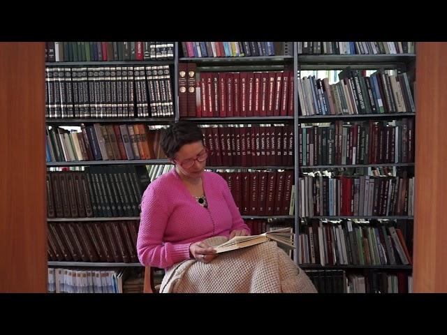 Изображение предпросмотра прочтения – ФайрузаМуратова читает отрывок изпроизведения «Обломов» И.А.Гончарова