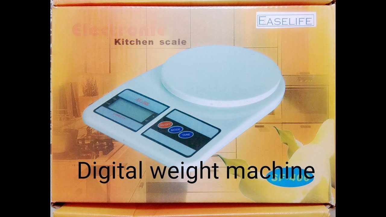 Unboxing New Electronic Kitchen Sf 400 Max 7kg Indonesian Language 10kg Timbangan Digital