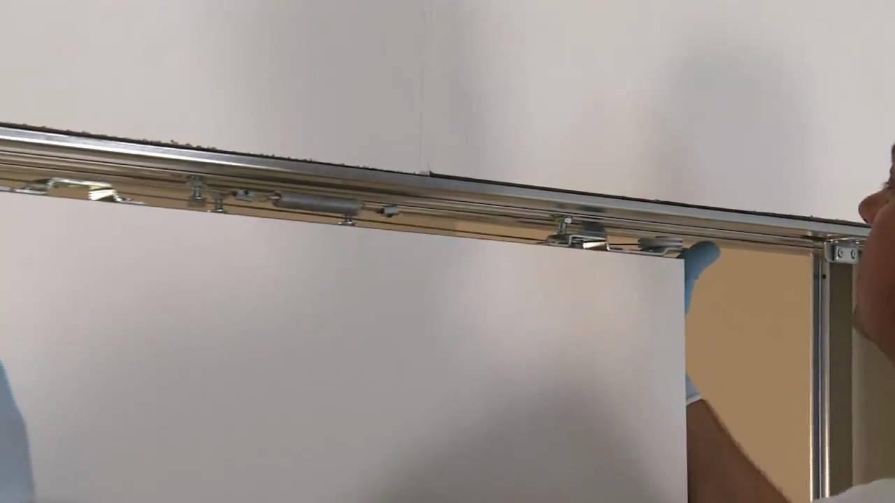 Montaggio pannelli porta sul controtelaio ECLISSE