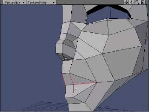 Lightwave Head Modeling