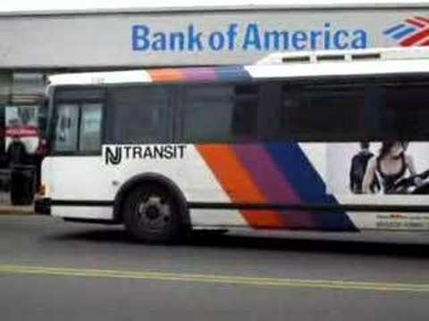 NJ Transit MCI D4000 & Flxible Metro-D along Grant Ave  - YouTube