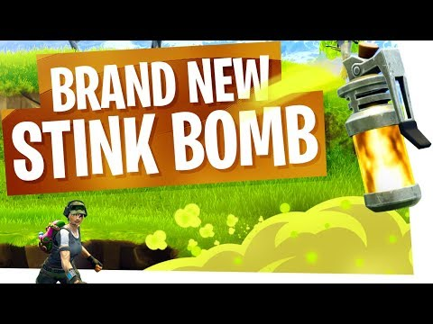 The New Stink Bomb is DIRTY! - Fortnite New Epic Grenade