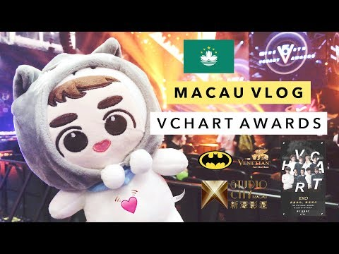 🇲🇴 Macau Vlog | 5th VChart Awards, The Venetian, Studio City 🇲🇴