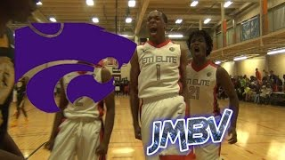 Kansas State Commit Barry Brown Official Summer Mixtape. Underrated Guard With Bounce