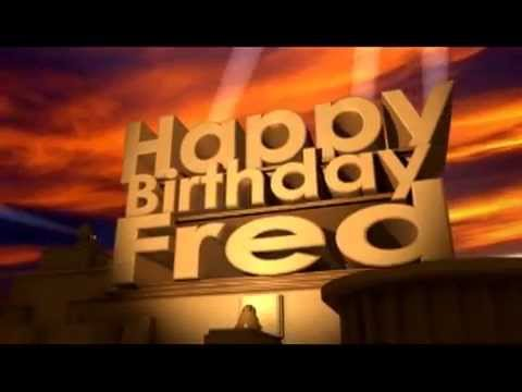 Happy birthday last Friday, Fred! Hqdefault