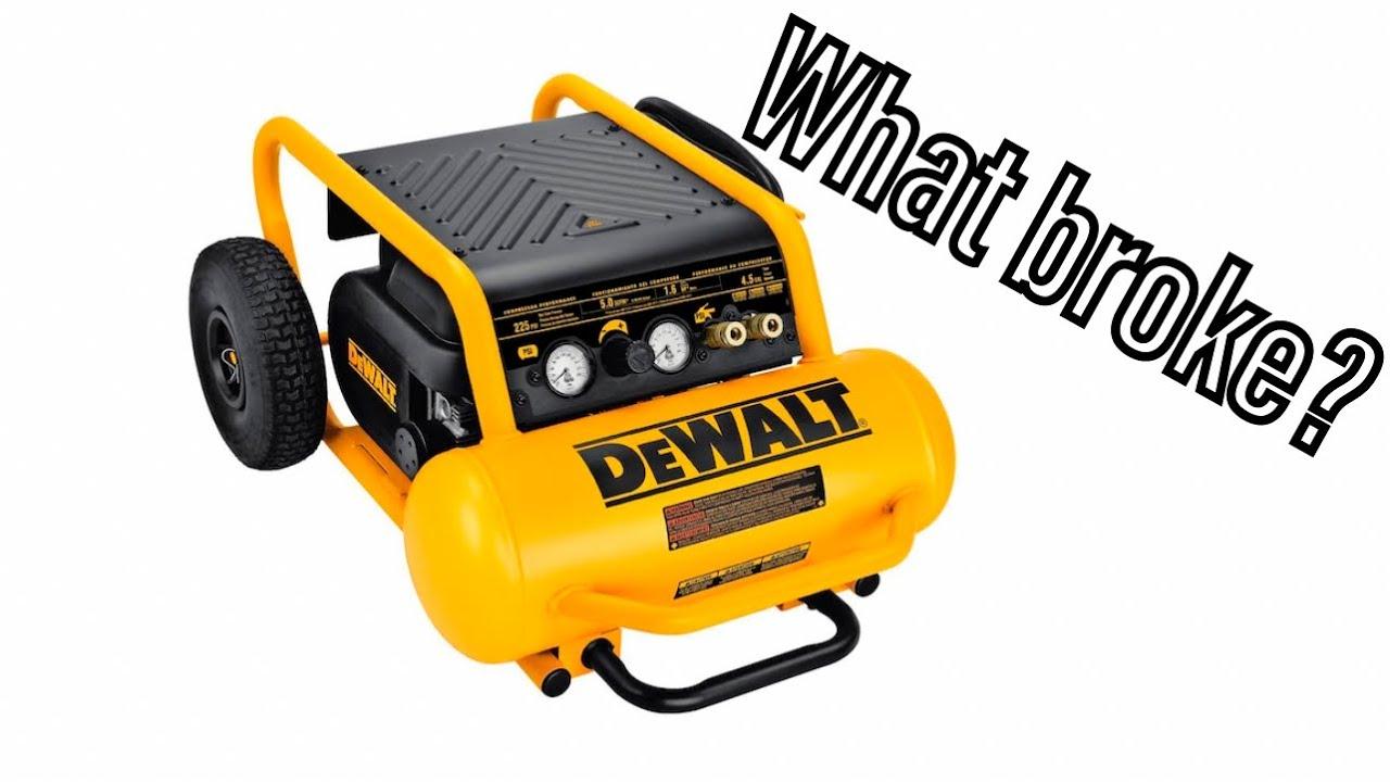 hight resolution of dewalt d55146 compressor diagnosis