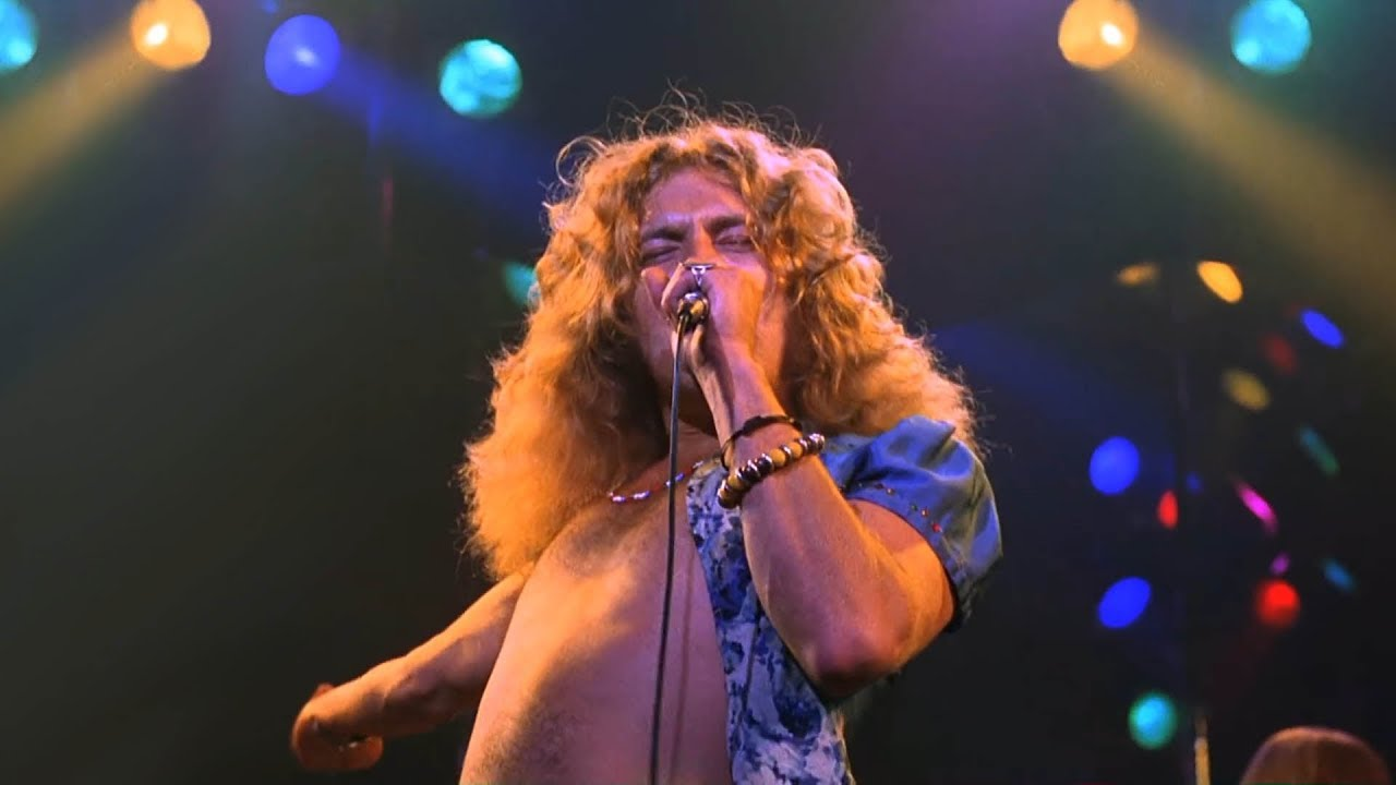 Led zeppelin rock and roll live video madison square garden 1973 original records youtube for Led zeppelin madison square garden