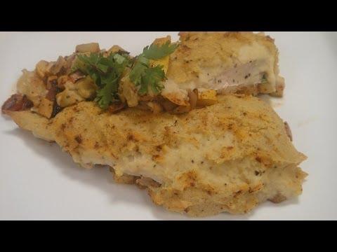 Hummus Crusted Chicken | Sanjeev Kapoor Khazana