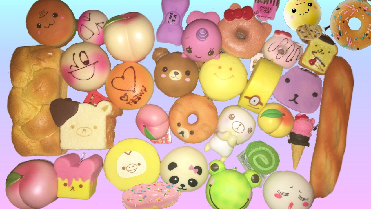 Squishy Collection 2017 : SQUISHY COLLECTION 2017 Abigail Sunshine - YouTube
