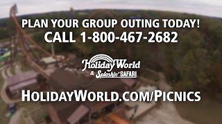 Plan your Company Picnic at Holiday World & Splashin Safari!