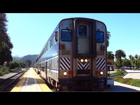 Santa Barbara Station - Pacific Surfliner Train 2015 - AMTRAX