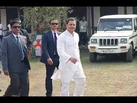 Rahul Gandhi and other 12 opposition ministers depart for Srinagar