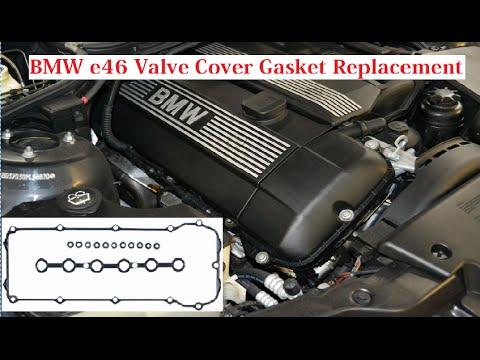 BMW e46 Valve Cover Gasket Replacement. BMW 323i 325i 328i 330i 323ci 325ci 328ci 330ci