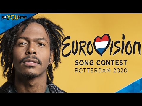 Jeangu Macrooy will represent the Netherlands in Eurovision 2020