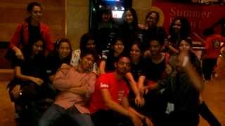 Inifd kothrud Pune - Students at Lakme Fashion Week 2013 Thumbnail
