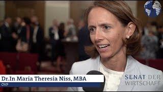 NR-Wahl 2019: Wirtschaftsprogramm ÖVP - Dr.in Maria Theresia Niss, MBA
