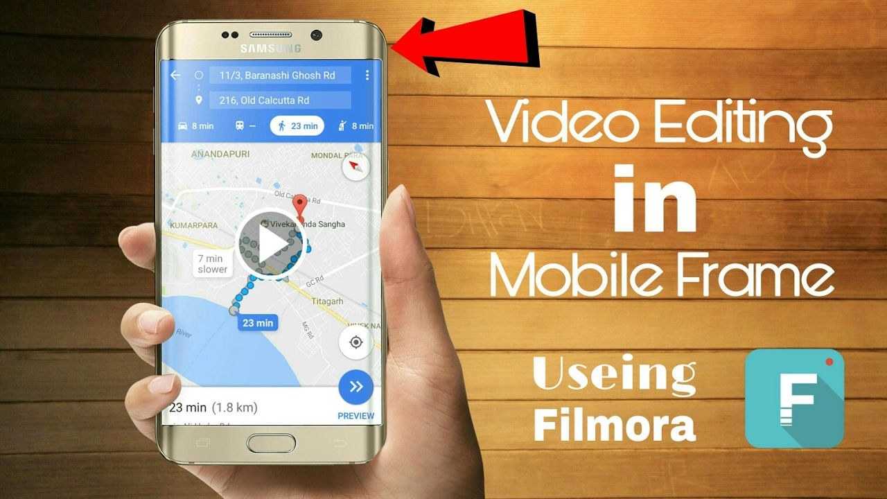 How To Editing Video in Useing Mobile Frame | in Just 300 Second ...