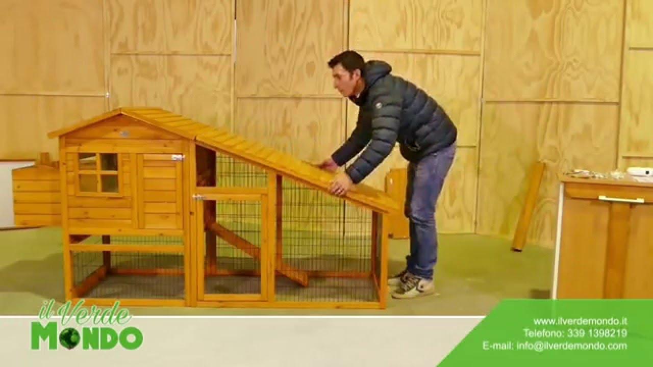 Come montare il pollaio amrock modello xl youtube for Il verde mondo