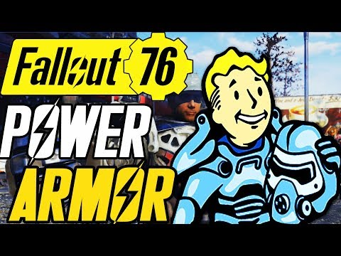 Fallout 76 power armor locations   PC Gamer