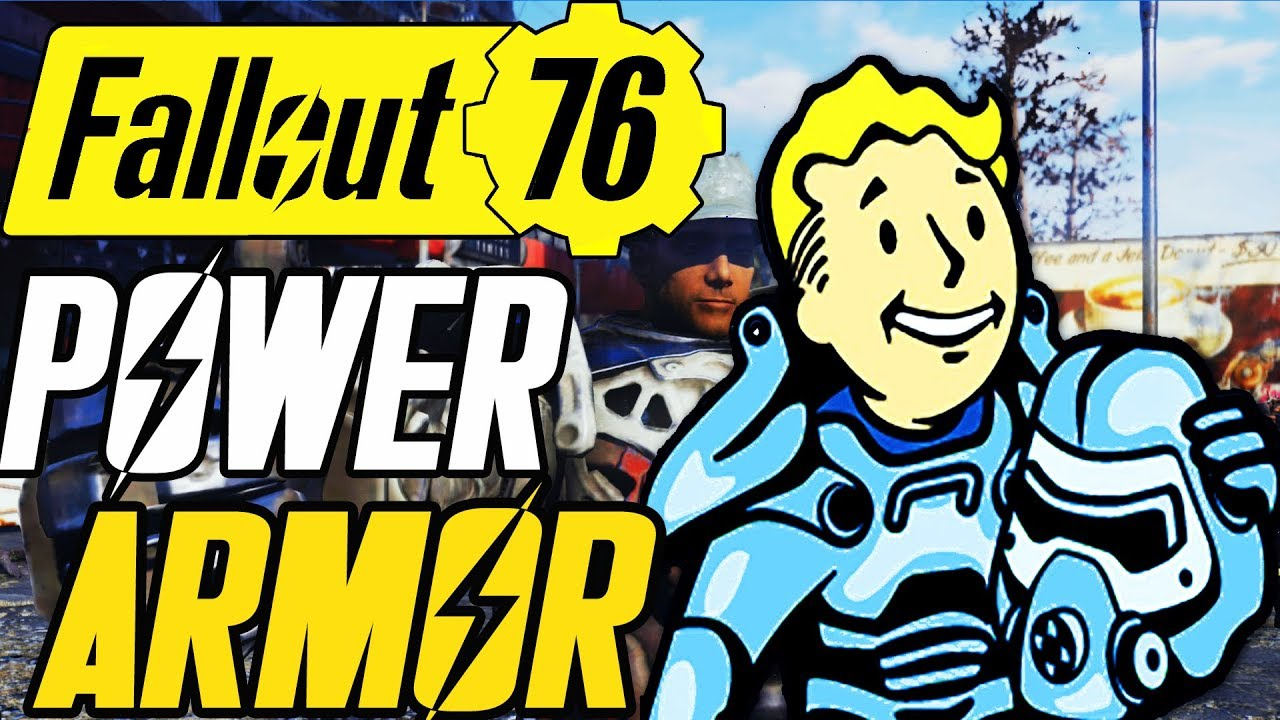Fallout 76 power armor locations | PC Gamer