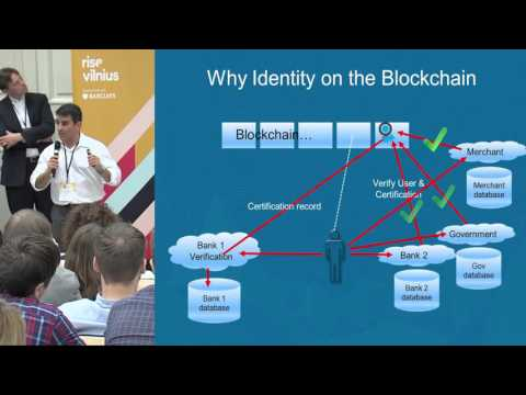 Armin Ebrahimi: Identity in the Digital World using the Blockchain