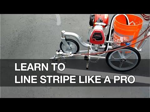Learn How To Line Stripe Your Parking Lot Like A Pro | Courses | Asphalt Kingdom