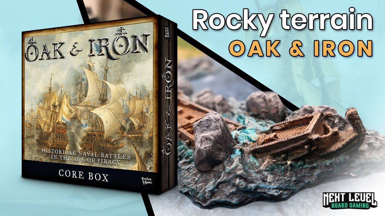 Create rocky terrain for Oak & Iron super fast
