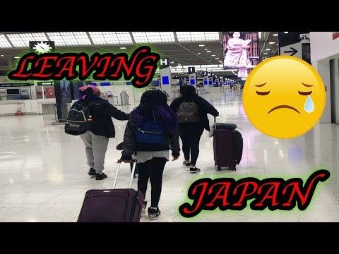 WE LEFT JAPAN!✌🏽| MILITARY FAMILY VLOGS