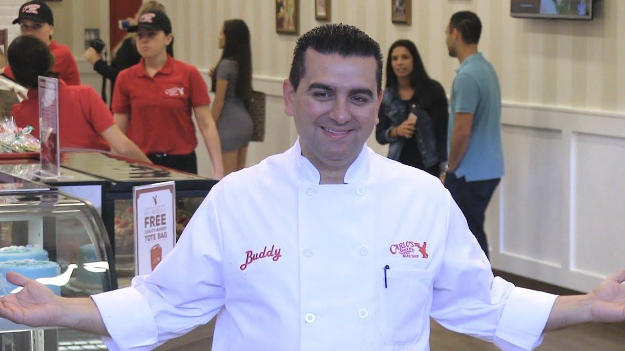 Cake Boss star Buddy Valastro opens Carlos Bakery at Florida Mall