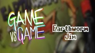 Earthworm Jim - Genesis vs SNES - Game vs Game