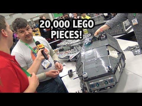LEGO Star Wars Customs Cruiser With Full Interior | Bricks Cascade 2019